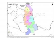 रतुवामाई नगरपालिकाको भौगोलिक नक्सा